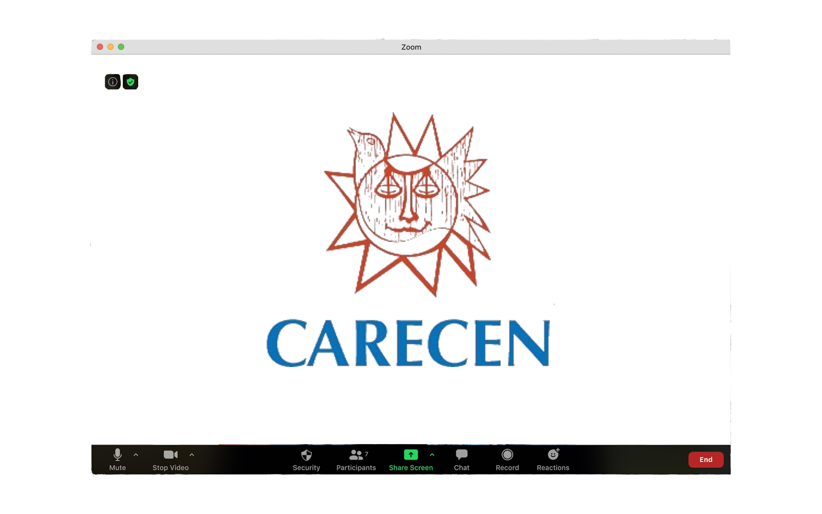 CARECEN Zoom